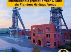 C-Mine Genk gepromoot als Flanders Heritage Venue